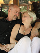 ronda larue healer and matt clements retirement investment advisor offering couples marriage retreats in ojai california