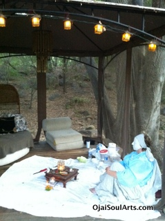 shaman ceremony art therapy spiritual healing retreats in Southern california Ojai Soul arts